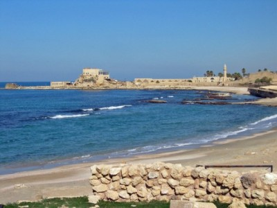The Ancient Port of Caesarea