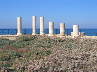 Ruins of King Herod's Palace at Caesarea