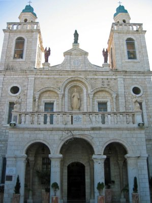 "The ""Wedding Church"" at Cana"