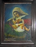 Our Lady of the Milk Painting