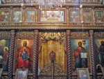 Iconostasis in Temptation Monastery