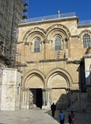 Holy Sepulcher Entrance
