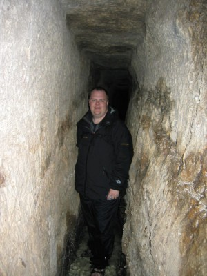 Me in Hezekiah's Tunnel