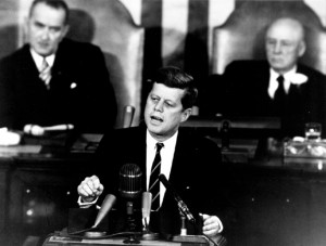 Kennedy Addresses Congress