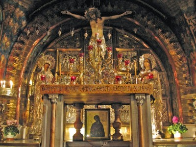 Calvary Greek Altar