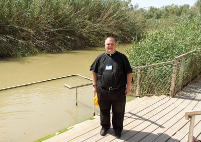 Shawn the Baptist at the Jordan River