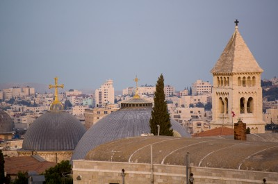Holy Sepulcher from Our Roof