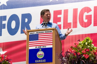 Governor Brownback Speaks