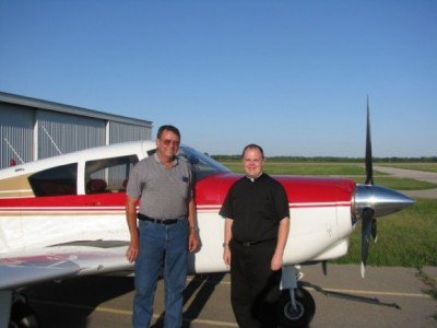 Jay and I After 1st Flight